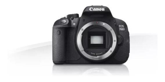 Câmera Canon Eos 700d Com Lente Nova E Garantia
