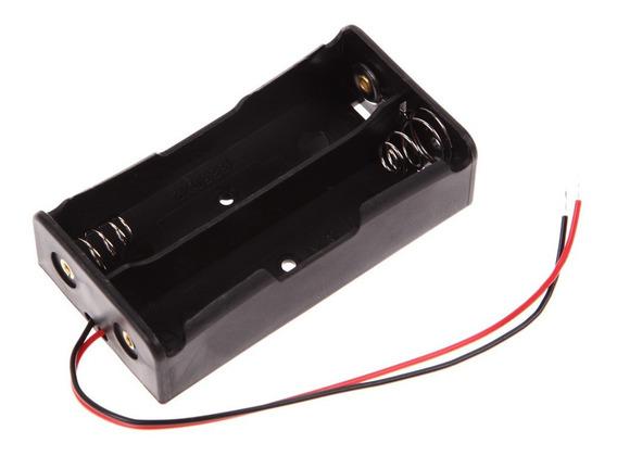 Suporte De Bateria 18650 - Para 2 Bateria - Série