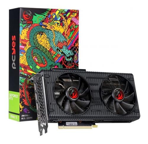 Imagem 1 de 6 de Placa De Video Nvidia Geforce Gpu Rtx 3060 Ti 8gb Gddr6