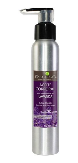 Aceite Para Masaje De Lavanda Rusens Aromatico Relajante