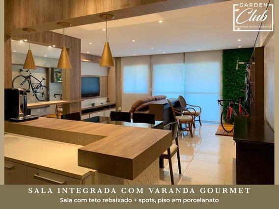 Apartamento Garden Club - Mansões Santo Antônio