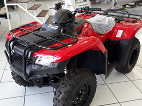 Honda Trx 400 Fourtrax 420 4x4 Ano 2018 0km Novo