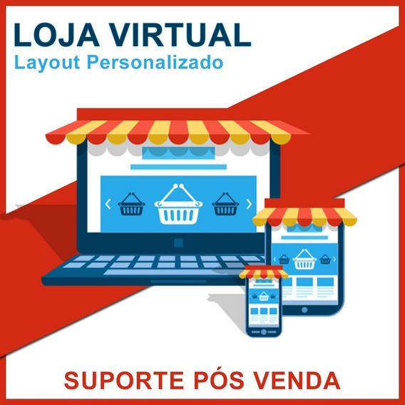Criação De Loja Virtual Design + App Pronta Para Vendas