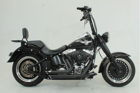Harley Davidson Softail Fat Boy Special 2012 Preta