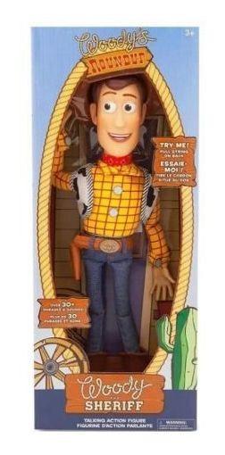 Xerife Woody Boneco Toy Story Disney Com Caixa Amassada