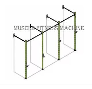 Power Wall Rack Gaiola Crossfit Funcional - Muscle