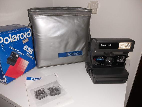 Câmara Polaroid 636 Closeup