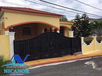 Casa En Renta En Excelente Urbanizacion Puerto Plata