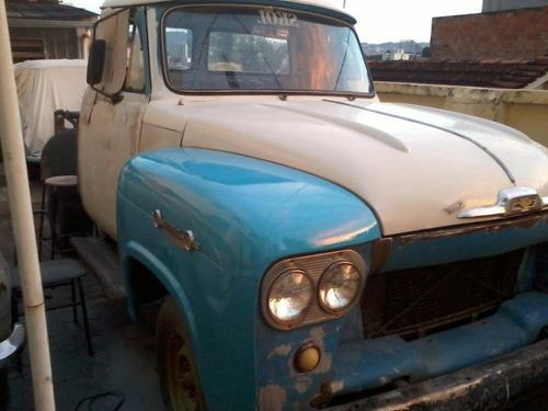 Camionete Chevrolet Brasil 1963