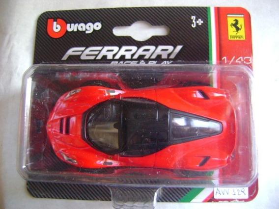 Nico La Ferrari Modelo 18-31137 Burago (avv 129)