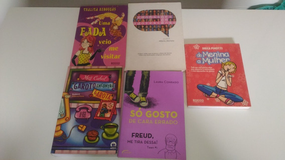 Lote 8 Livros Juvenil Rebouças Cabot Isabela Zusak Rowell