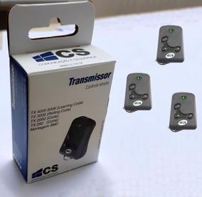 Controle Remoto Cs Alarmes, Cerca Portão Kit C/ 3