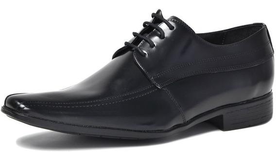 Sapato Social Masculino Couro Legítimo Amarrar Génova 1022