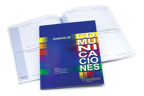 Cuaderno Comunicaciones Triunfante T/f 24 Hjs 90 G X 10 Unid