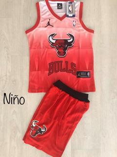 Uniforme Baloncesto Chicago Bulls Niño