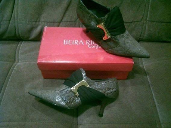 Bota Feminina Beira Rio (na Caixa) Usada