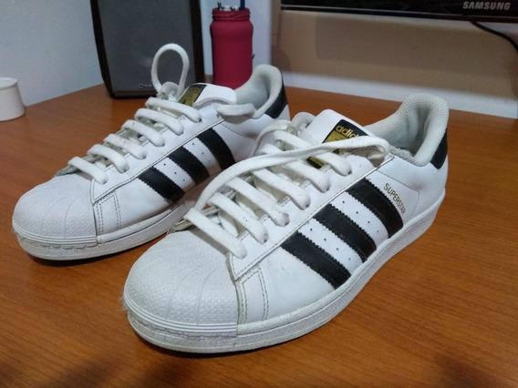 adidas Superstar Blancas 41 1/2 Originales Impecables!