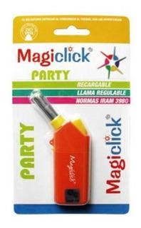 Encendedor De Cocina Magiclick Pocket Party A Gas Recargable