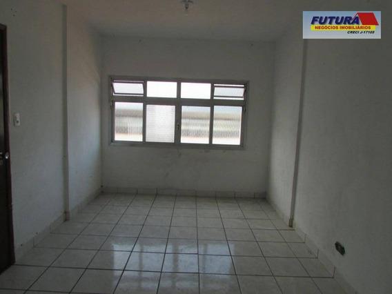 Studio Com 1 Dormitório À Venda, 38 M² Por R$ 140.000,00 - Gonzaguinha - São Vicente/sp - St0304