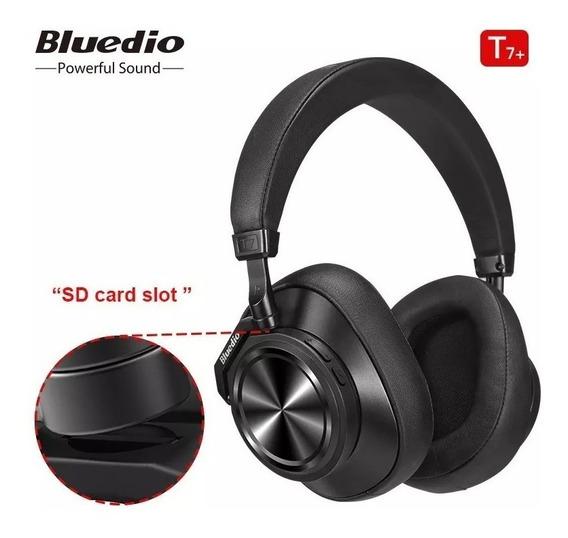 Fone Bluetooth Bluedio T7 Plus Cancelamento De Ruido Novo