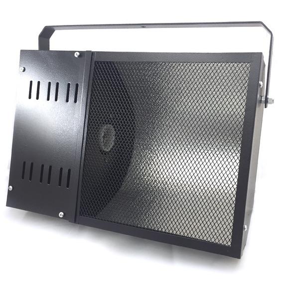 Refletor Carcaça Para Luz Negra Com Soquete E-40
