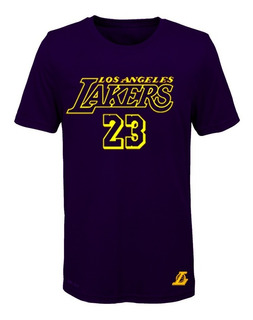 Remera Basket Nba Los Angeles Lakers (001) #23 Lebron James