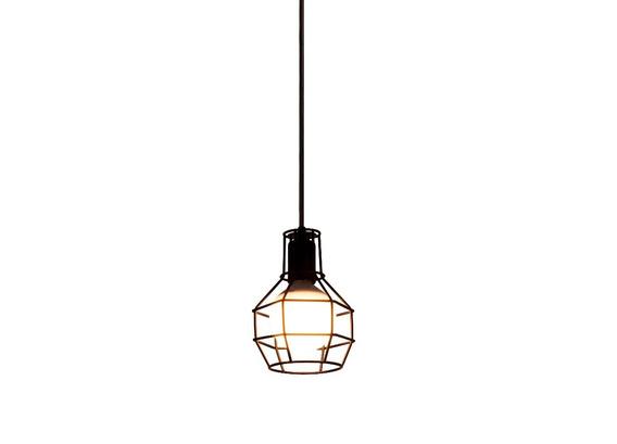 Lustre Pendente Retro Aramado Design Moderno+lâmp Rêtro 110v
