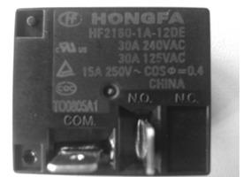 01pç Relé Hf2160 30a 12v Ar Condicionado Split