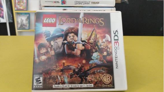 Lego Lords Of The Ring 3ds Jogo Mídia Física Semi-novo