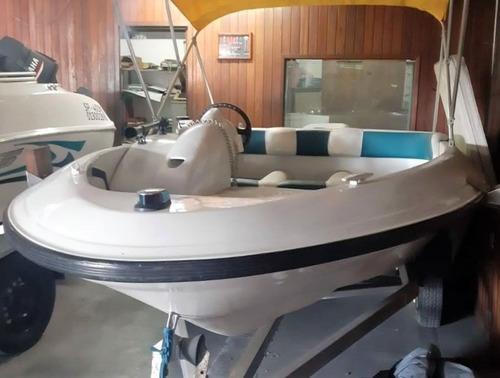 R$ 23.000! Lancha Jet Boat Cost Catamaram Mercury 120hp 1995