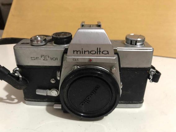 Câmera Fotográfica Srt- 101 Minolta