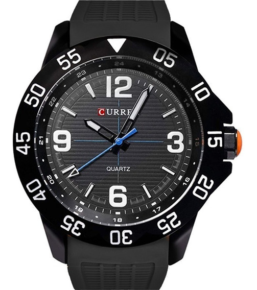 Relógio Curren Masculino Barato Garantia Original Nfe