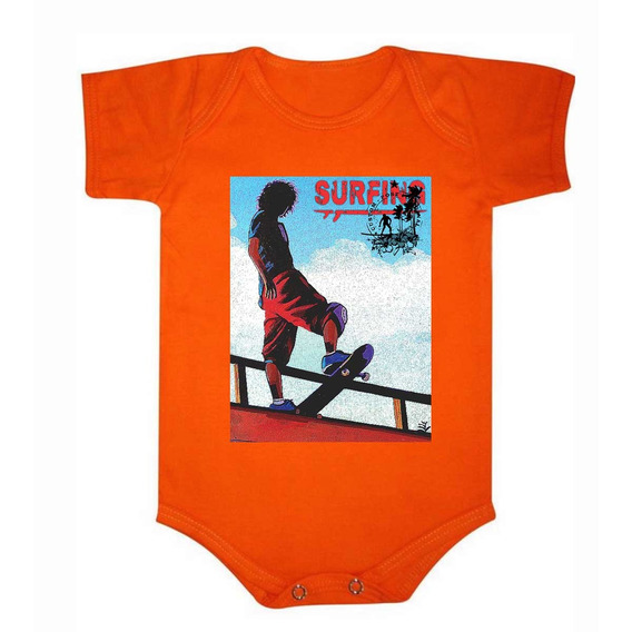Roupa De Bebê Body De Algodão Surf Baby - 038