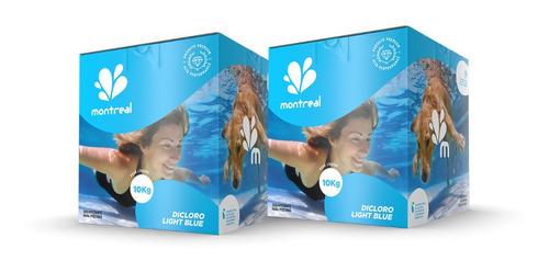 Imagem 1 de 3 de Kit Limpeza Tratamento Piscina Purificador D'água Manutenção