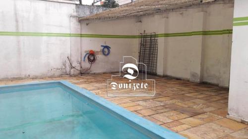 Imagem 1 de 17 de Casa À Venda, 172 M² Por R$ 849.000,00 - Vila Lutécia - Santo André/sp - Ca1393