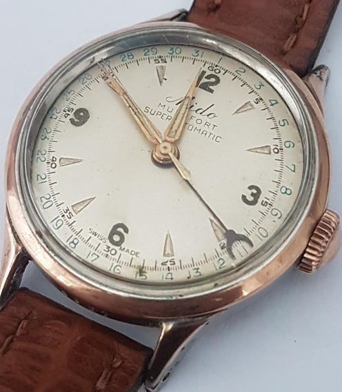 Relogio Mido Vintage Multifort Superautomatic Calendario