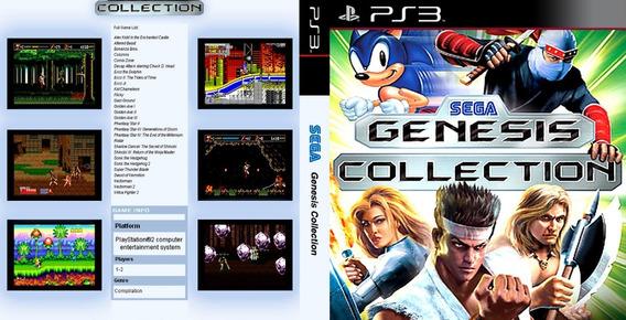 Emulador Mega Drive + 1360 Jogos Ps3 Desbloqueado Cfw