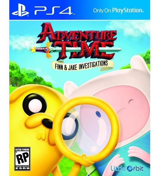 Jogo Novo Adventure Time As Investigações De Finn E Jake Ps4