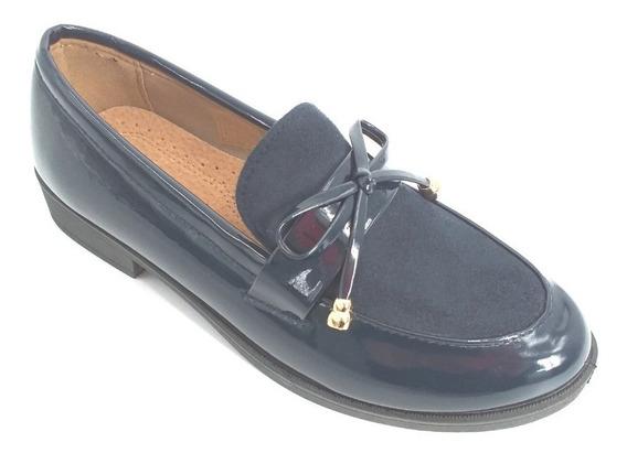 Zapatos Mocasines De Charol
