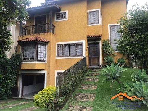 Imagem 1 de 15 de Casa Com 3 Suites Em Condominio Fechado De Aruja Sp - 20389