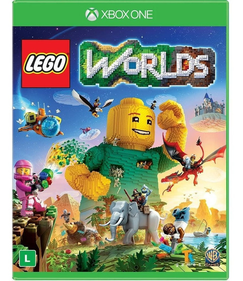 Lego Worlds Xbox One Código 25 Digitos