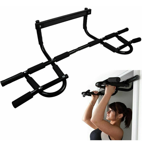 Barra Porta Multifuncional Musculação Fixa Mista Portátil