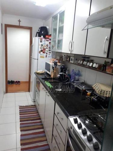 Apartamento Com 3 Dormitórios À Venda, 68 M² Por R$ 320.000 - Bangu - Santo André/sp - Ap10092