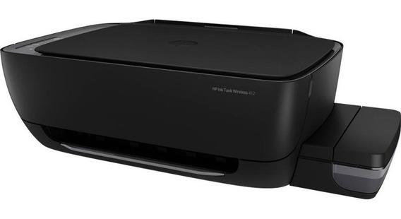 Impressora Multifuncional Tanque De Tinta Hp Inktank 412 U