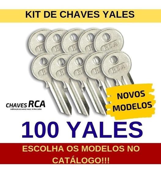 Kit De 100 Chaves Yales Virgens Para Cópia - Rca