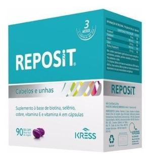 Reposit C/90cps - Cabelos E Unhas