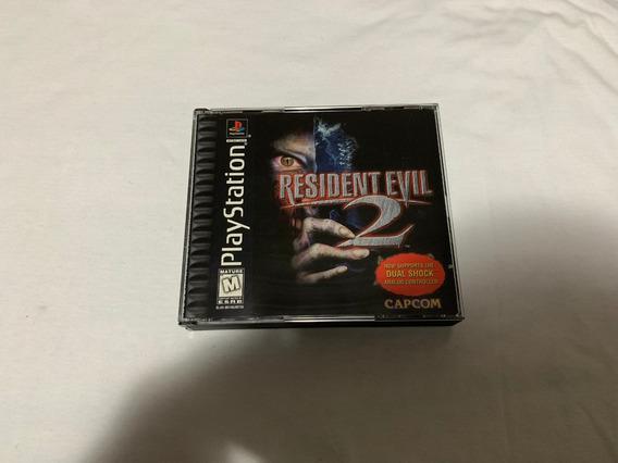 Resident Evil 2 Dual Shock Ps1 Original Americano #1