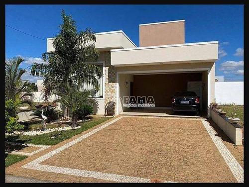 Casa Com 3 Dormitórios À Venda, 176 M² Por R$ 790.000,00 - Condomínio Campos Do Conde 2 - Paulínia/sp - Ca2325