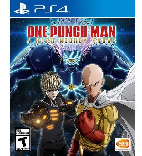One Punch Man - Ps4 Fisico Nuevo Y Sellado