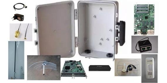 Kit Para Provedor Internet E Wifi-componentes Para Sua Rede